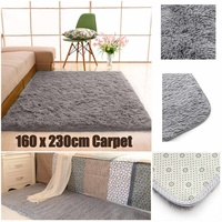 Carpet For Living Room Decor Long Floor Mat Shaggy Warm Plush Rugs Fluffy Mats Kids Room Area Rug Door Anti slip Mat 160x230cm