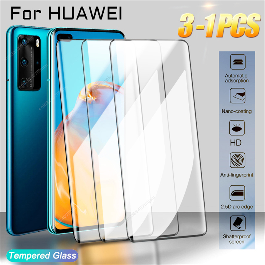 Протектор экрана из закаленного стекла для Huawei P30 P20 P40 Pro Lite протектор экрана P Mate 20 30 40 Lite Pro smart Z Y6 2019 2018 полного покрытия против царапин