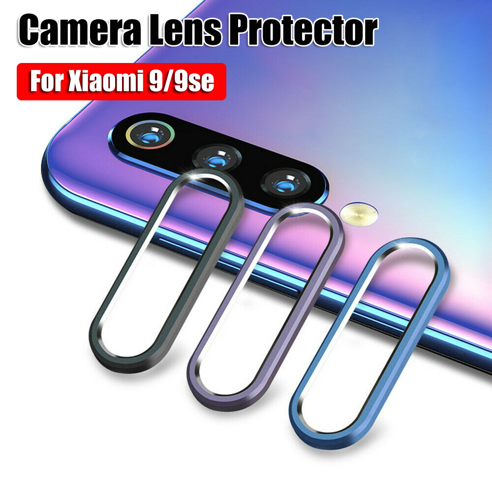 NEWEST Aluminum Rear Back Camera Len Protector Guard Case Cover Rings For Xiaomi Mi 9 mi9se
