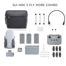 Dji mini 2 zangão/mini 2 fly mais combinado com 4k zoom câmera 10km distância de transmissão mavic mini 2 novo original em estoque