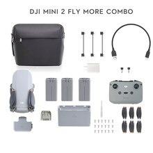 DJI-Mini Dron 2/Mini 2 fly more combo con cámara 4K zoom 10km de distancia de transmisión Mavic Mini 2, nuevo, original, disponible