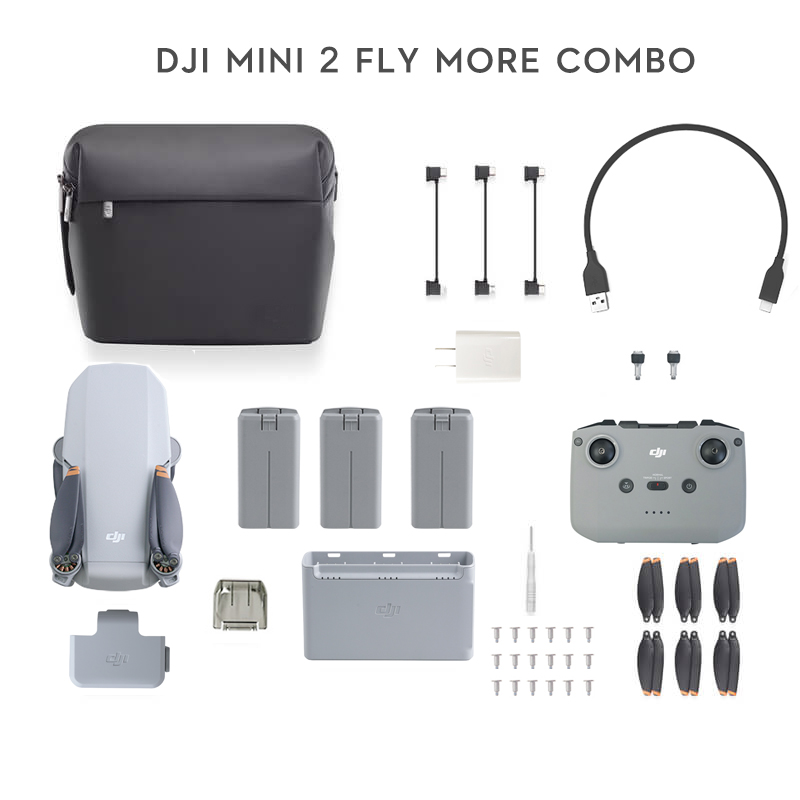 Dji mini 2 zangão com 4k zoom câmera 10km distância de transmissão mavic mini 2 original novo em estoque