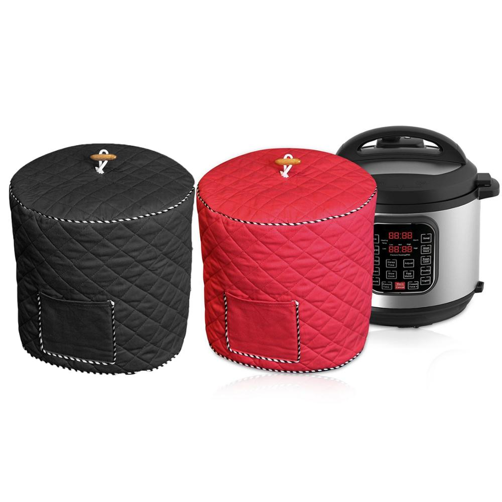 Behogar Home Kitchen Dustproof Anti-static Protective Cover With Front Pocket For 5 6 Qt Instant Pot Pressure Cooker Air Fryer