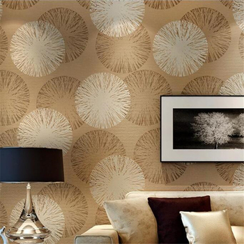 WELLYU Modern minimalist brown non-woven wallpaper warm bedroom full living room TV background papel de parede new wallpaper