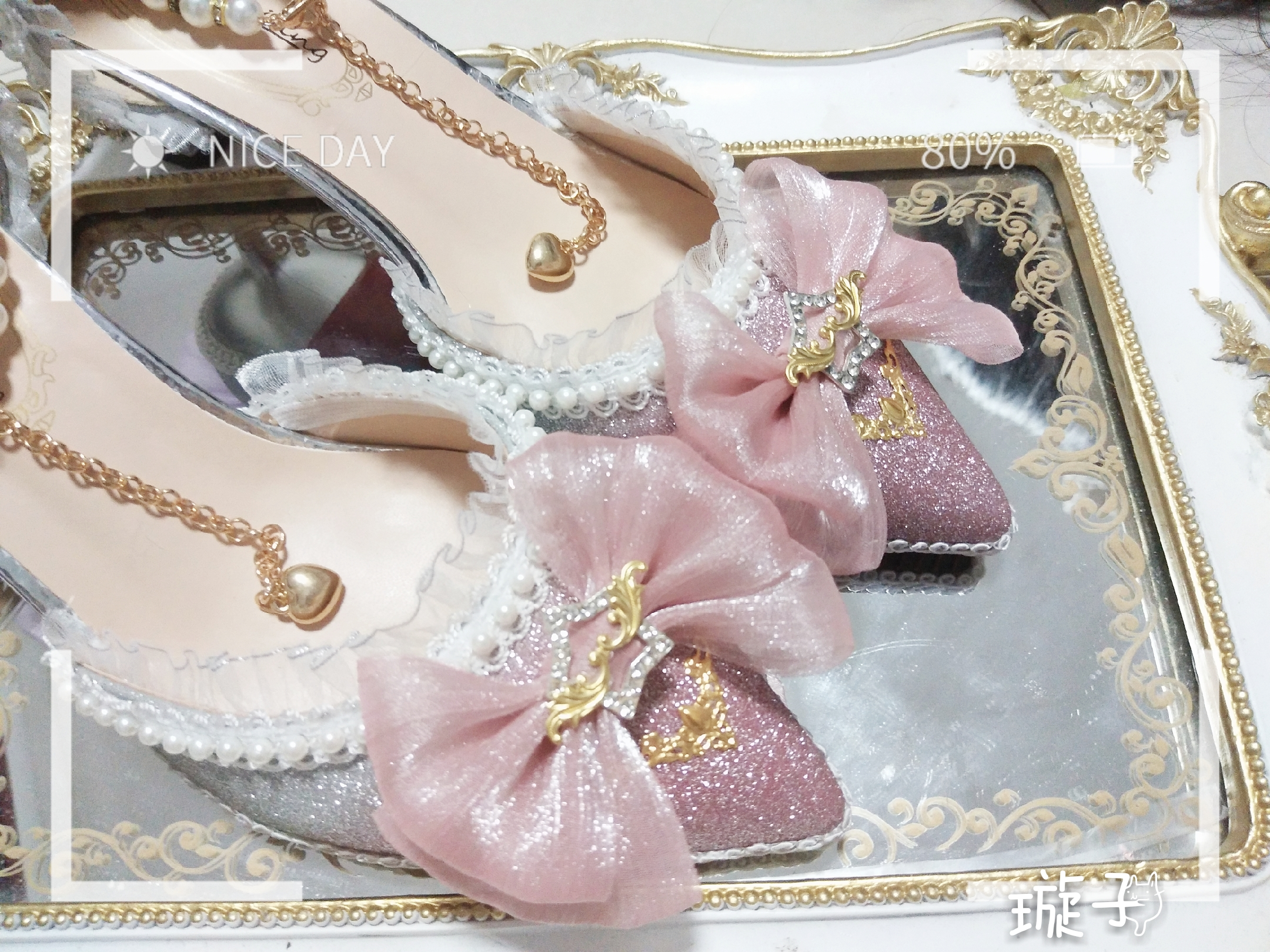 Sweet lolita shoes vintage round head low heel women shoes cute bowknot cross bandage kawaii shoes loli cosplay kawaii girl