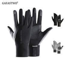 Touch-Screen-Gloves Motorcycle Warm Waterproof Winter Sports And Non-Slip Riding Men's