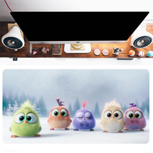 Gaming mouse pad large thickened mouse pad game console accessories XXL non-slip natural rubber PC computer keyboard table mat