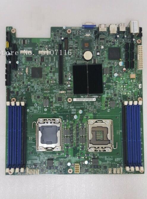 La placa base de escritorio para la placa de servidor S5500WB 1366 probará antes del envío INTEL XONE L5640 CPU INTEL L5640 procesador seis core 2,26 MHZ LeveL2 12M para lga 1366 montherboard