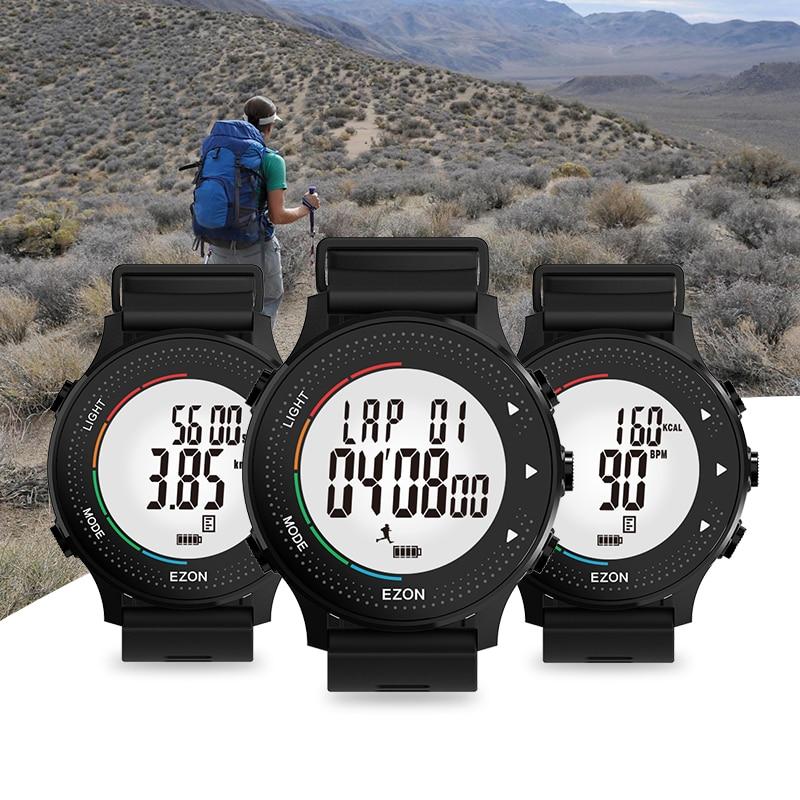 Relojes digitales para hombres con podómetro Cronómetro - Relojes para hombres - foto 2