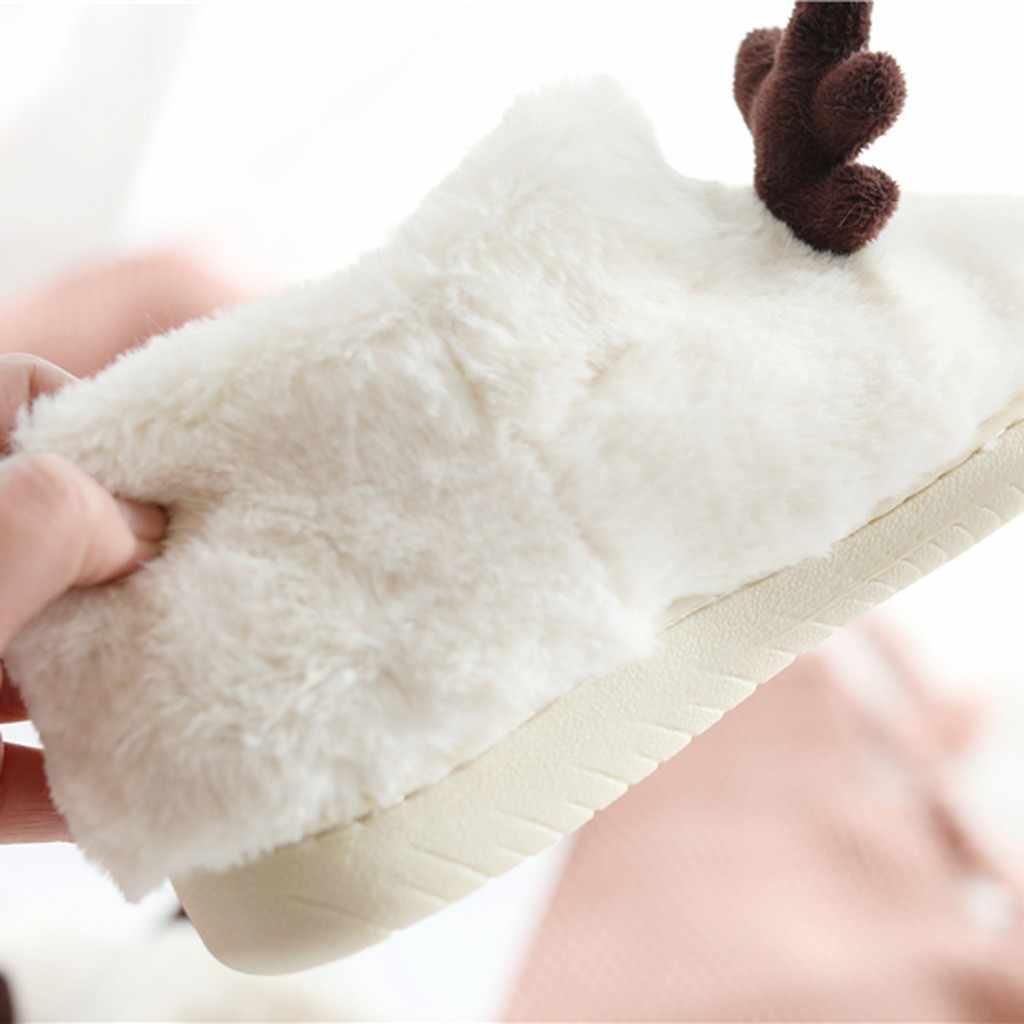 Mode Winter Schoenen Vrouw Thuis Enkellaarsjes Leuke Indoor Sokken Laarzen Warm Dames Katoen Bont Schoenen Pluche Botines Mujer