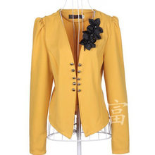 2020 Fashion New women blazers jackets business plus size short coat for woman White,pink,black, yellow,red L,XL,XXL,3XL,4XL,5XL(China)