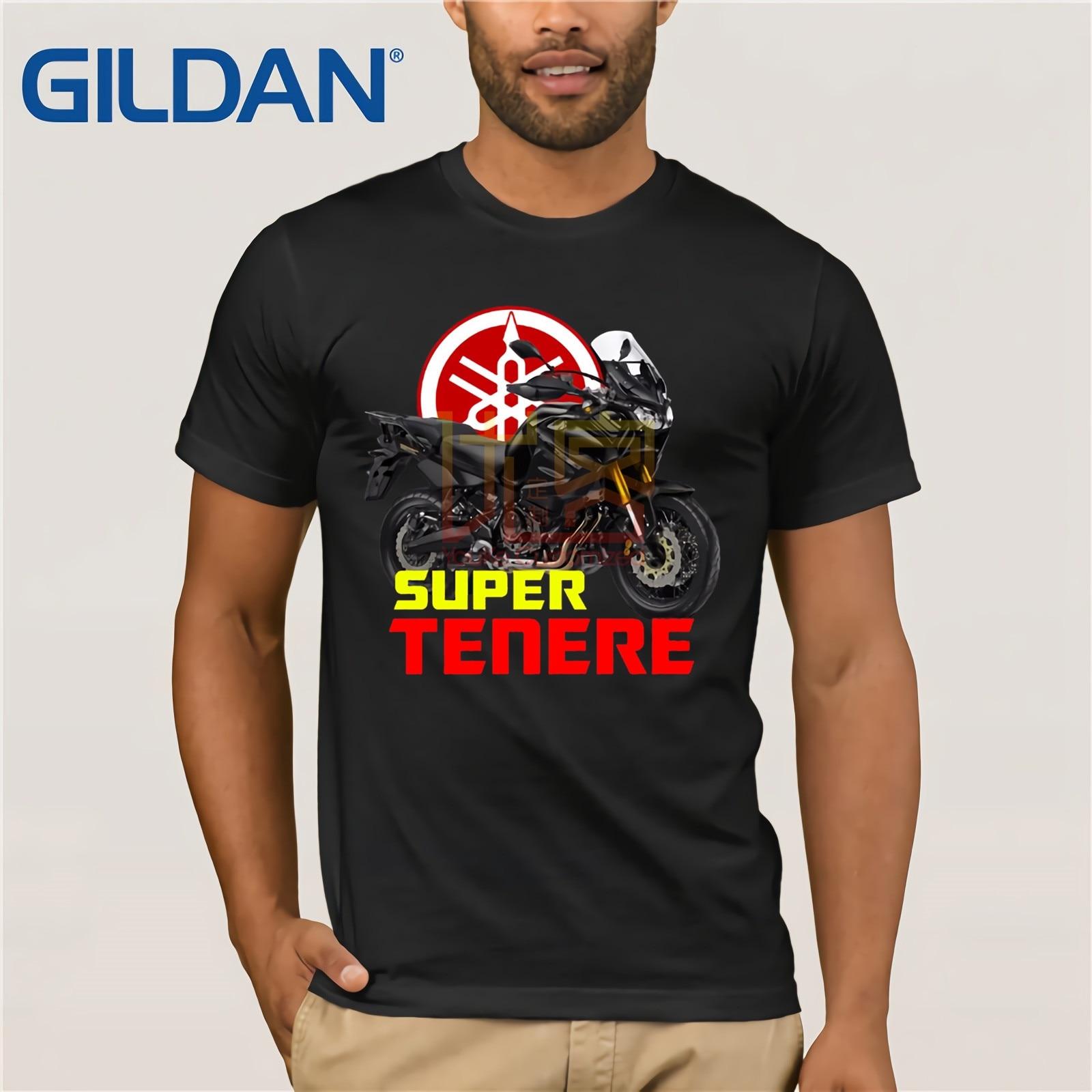 2019 100% Cotton Summer Mens Hot Sale T Shirt Super Tenere T-Shirt Xtz 1200 Super Tenere Tee Shirt