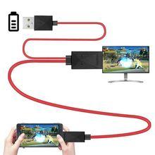 6,5 футов MHL Micro-USB к HDMI конвертер кабель 1080P HDTV для Android устройств S-amsung Galaxy S3 S4 S5 Note 3 2