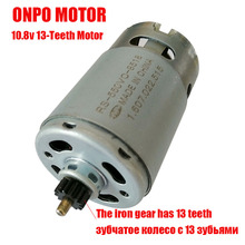 DC Motor Electric-Drill Teeth-Rs-550vc-8518 GSB10.8-2-LI Screwdriver Power-Tool Parts--Accessories