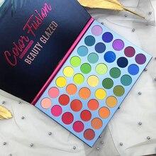Schönheit Glasierte 39 Farben Regenbogen Matte Lidschatten Pallete Fasion Auge Pigment Make-Up Glitter Schimmer Lidschatten-palette Kosmetik