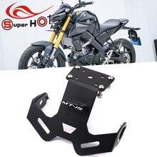 Luce LED portatarga per YAMAHA MT15 MT 15 2018 2019 2020 2021 accessori moto eliminatore parafango ordinato coda