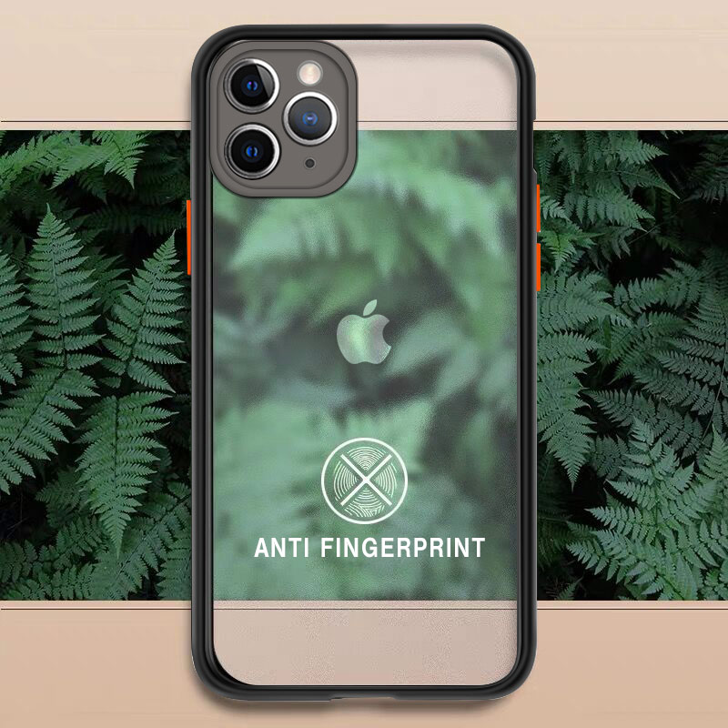 Luxury Matte Transparent Phone Cases For iPhone 11 Pro XS Max X XR 8 7 6 6S Plus SE 2020 Camera Protection Shockproof Hard Cover