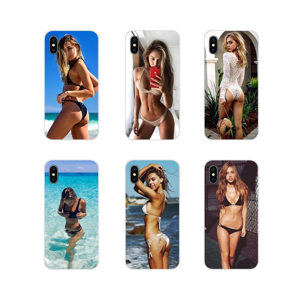 Alexis ren modelo bikini acessórios do sexo capas de telefone para samsung galaxy a3 a5 a7 a9 a8 estrela a6 plus 2018 2015 2016 2017