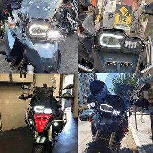 Image 5 - Assemblage complet de phares pour motos, feux daventure, feux daventure, pour BMW F800GS, F800R, F700GS, F650GS, projecteur LED