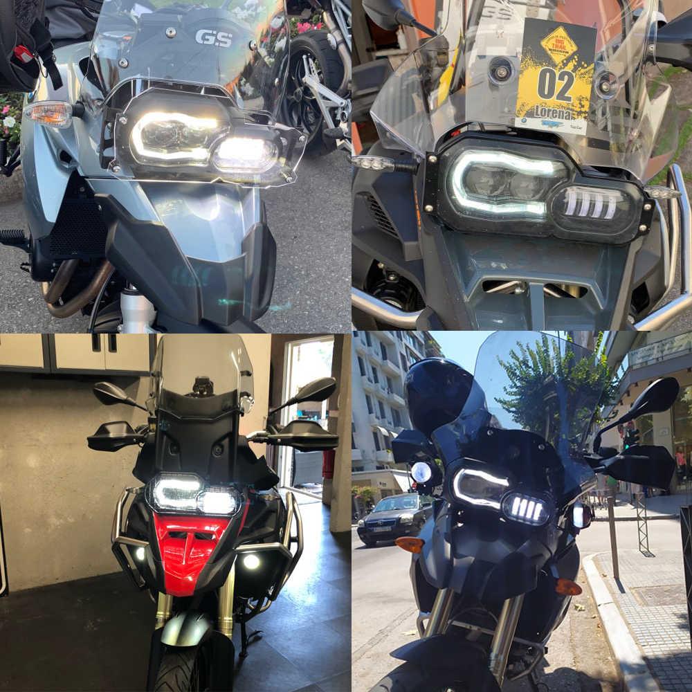 オートバイライト Bmw F800GS F800R F700GS F650GS 冒険オートバイ完全な LED プロジェクターヘッドライトアセンブリ