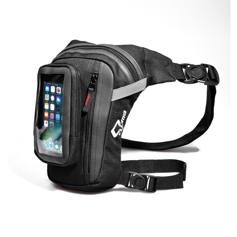 New KUBUG Motorcycle Buckle Oxford Zipper Running Storage Multifunctional Outdoor Sport Moto Bag Waterproof Cycling Leg Bag