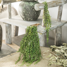 Succulents Artificial Bracket Vines Hanging Fake Plants Flower Pot Wall Wedding Landscape Decorative Mini Green Arrangement