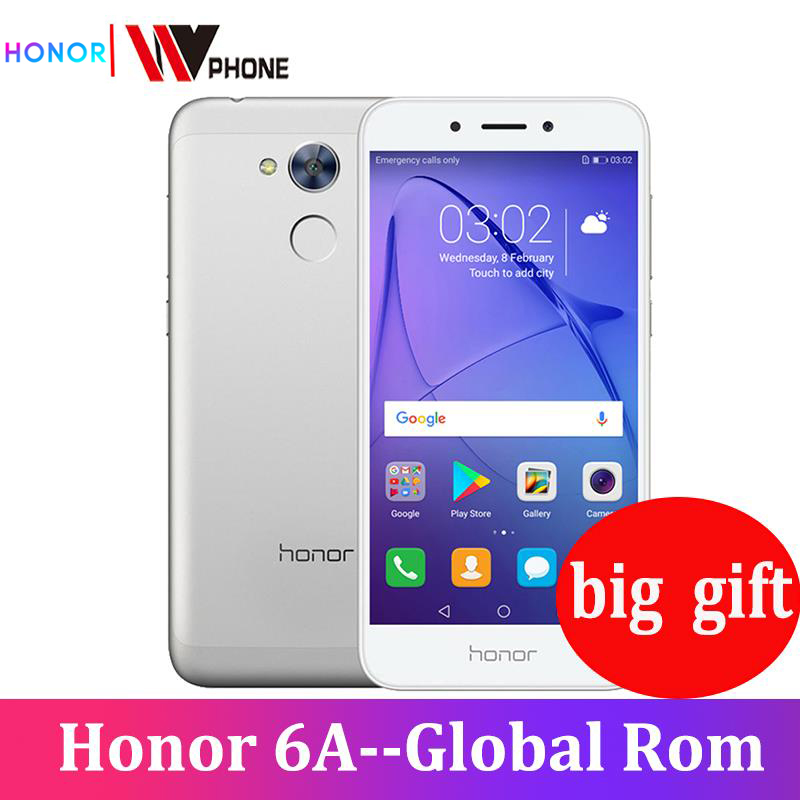 Honor 6A Play 2GB 16GB Original New Mobile Phone Snapdragon 430 Octa Core Android 7.0 5.0 inch  fingerprint ID-in Cellphones from Cellphones & Telecommunications