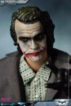 For Collection Full Set figure doll 1/12 Soap Studio FG008 The Joker Robbed Version Clothes Set With 2 Head Sculpt Toys