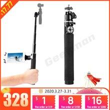 Dla DJI OSMO stabilizator ręczny Selfie Stick tyczka przedłużająca pręt dla zhiyun smooth 4 Gopro 6 5 kamera akcji DJI OSMO mobile 2