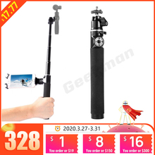 for DJI OSMO Handheld Stabilizer Selfie Stick Extension Pole Rod for zhiyun smooth 4 Gopro 6 5 Action Camera DJI OSMO Mobile 2