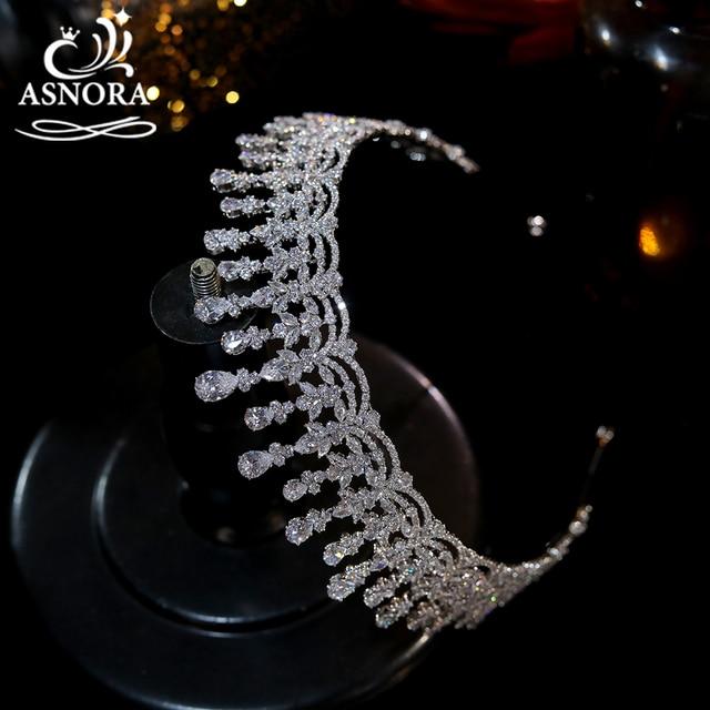 Crown asnora new bridal wedding ti