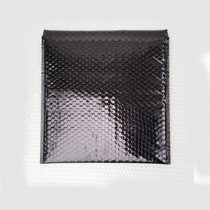 Image 5 - 50pcs CD/CVD Packaging Shipping Bubble Mailers gold paper Padded Envelopes Gift Bag Bubble Mailing Envelope Bag 15*13cm+4cm