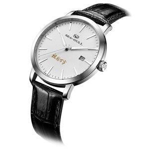 Image 4 - Nova edição limitada mar goll 70th aniversário da fundação da china seagull relógio automático mecânico 819.12.1949 w/jornal