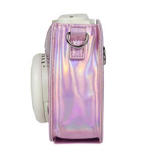 Image 3 - Fujifilm Instax Mini 9 Mini 8 sac étui pour appareil photo holographique brillant Laser instantané caméra bandoulière sac protecteur housse pochette