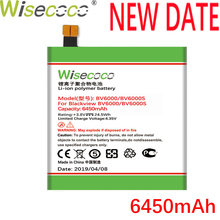 лучшая цена Wisecoco BV6000 6450mAh New Production Battery For Blackview BV6000 BV6000S Phone High quality Battery Replace+Tracking Number