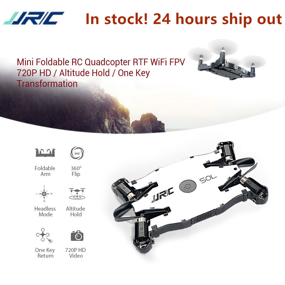 JJRC H49 SOL Drone RC Helicopter Altitude Hold 4-Channels JJRC RC Drone HD 720P Mini FPV Drone WiFi Quadcopter Foldable Drone