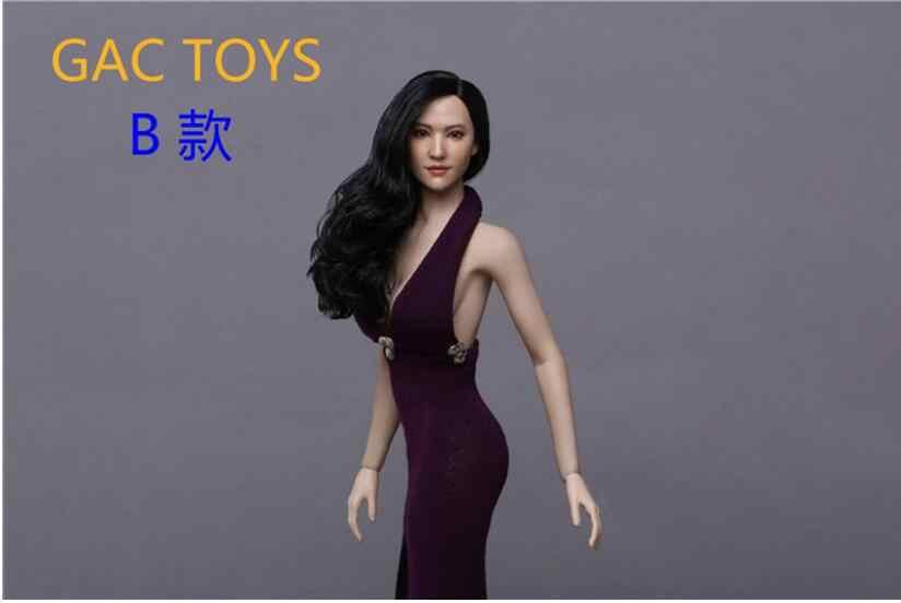 1//6 GACTOYS GC015 A Asian Beauty Head Sculpt F12/'/' Action Figures Body Gifts