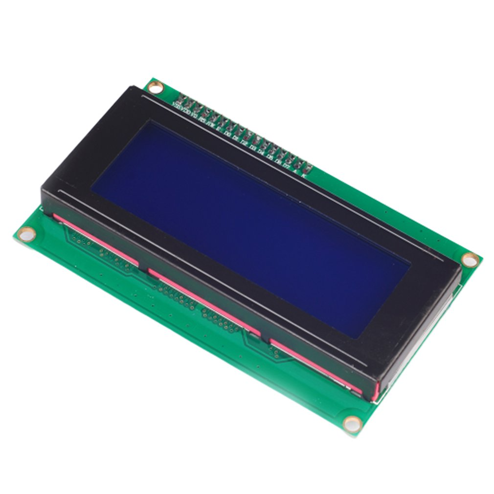 Iic/I2C Lcd2004 Lcd Module Blue Screen Provides Library File Compatibility Development Board Dlp Optical Display Module