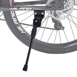 HILAND Steel Bike Kickstand for 26 27.5 29 Inches MTB mountain Bicycle Cycling Side Stand Bicycle Supporter Bike Accessories