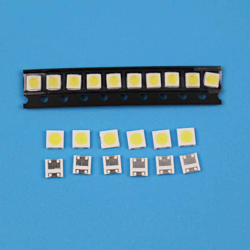 TKDMR 50 قطعة شارب عالية الطاقة LED الخلفية 2 واط 3535 3 فولت 6 فولت كول الأبيض 135LM TV تطبيق شحن مجاني