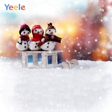 Yeele Christmas Photocall Party Gifts Snowman Decor Photography Backdrops Personalized Photographic Backgrounds For Photo Studio