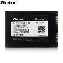 Zheino 2,5 дюймов 44PIN IDE PATA 16 ГБ 32 ГБ 64 ГБ 128 Гб SSD Внутренний твердотельный диск 2D MLC жесткий диск для ноутбука Настольный