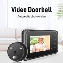 R11 Home Security Alarm/ Welcome Smart Doorbell 2.4 inch Digital Doorbell IR Night Smart Cordless for Warehouses Home Office