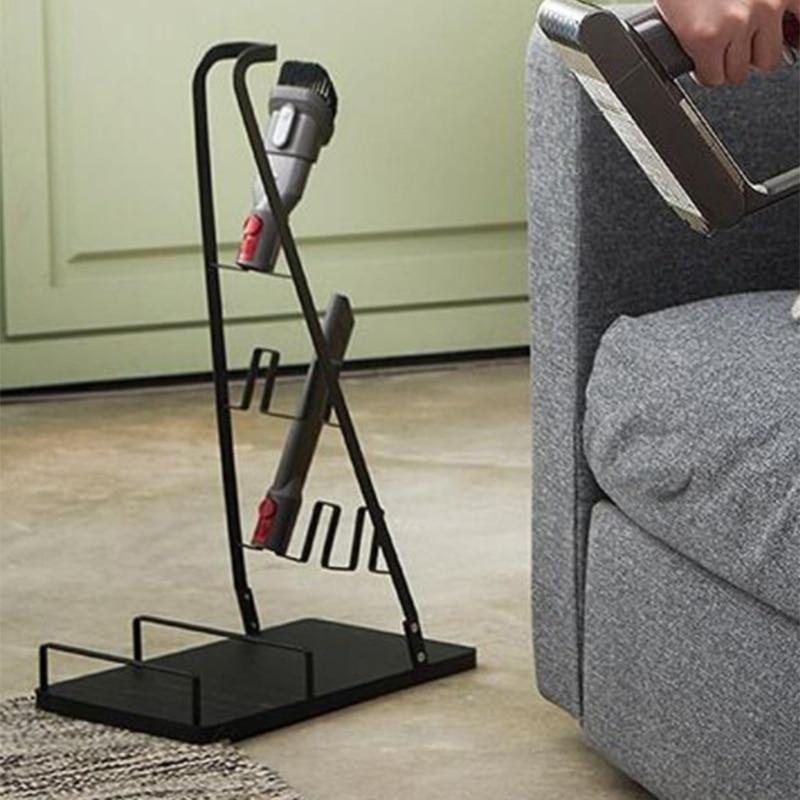 Vacuum Stand for Dyson V6 V7 V8 V10 Stick Cleaner Holder Storage Rack Support Home Organizer for Handhold Electric Broom