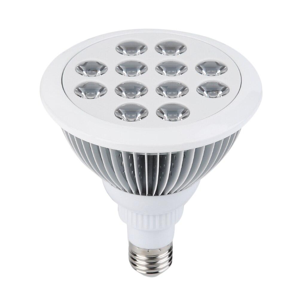 ICOCO 12W LED Plant Grow Light 85-265V LED Lighting LED Plants Growing Lamp For Hydroponics Flowers Plants Vegetables