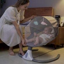 Chaise à bascule électrique pour bébé, berceau confortable pour nouveau-né, libérant les mains de la mère