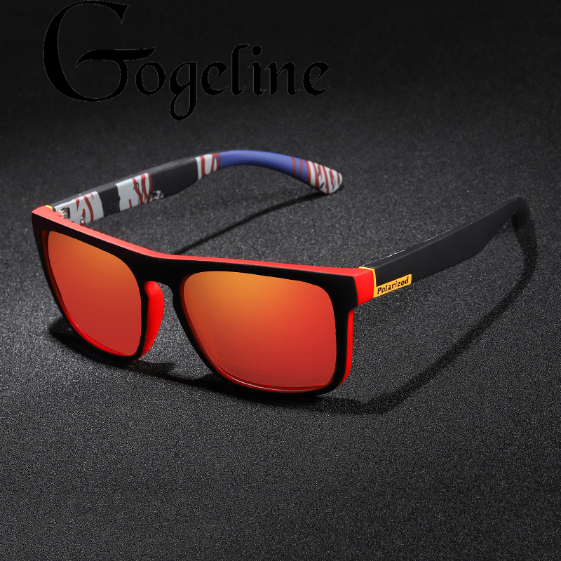 2020 Square Polarized Sunglasses Mirror Ultralight Glasses Frame Sport Sun Glasses Male UV400 Driver Shades Coating Oculos