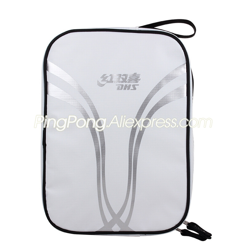 DHS Table Tennis Bag Waterproof Square Top Quality Original Ping Pong Bat Case / Bag