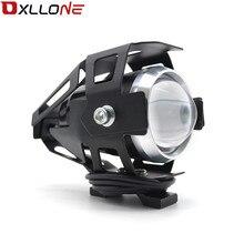 Evrensel 12V motosiklet Metal LED arka lambası sürüş Spot kuyruk lambası sis işık için kawasaki Ninja H2R ZX 6R ZX 6R canavar enerji