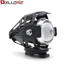 Uniwersalny 12V motocykl metalowy tylne światło led jazdy Spot lampa tylna światło przeciwmgielne dla kawasaki Ninja H2R ZX 6R ZX 6R potwór energii